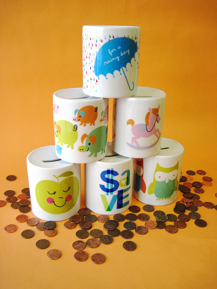 coin bank stack