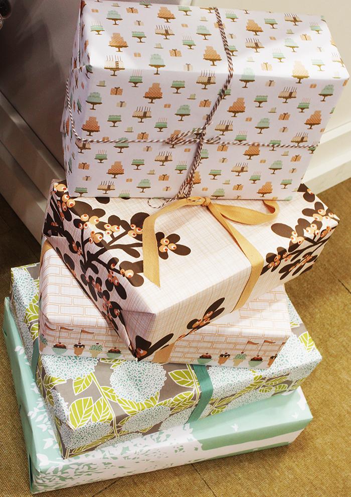 Kate + Birdie gift wrap