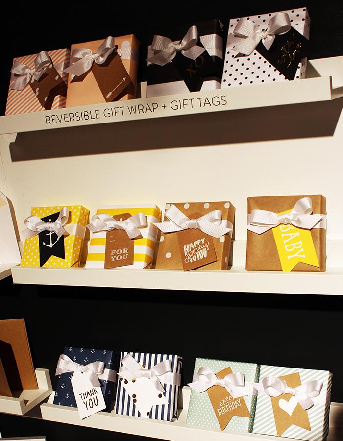 Sugar Paper gift wrap