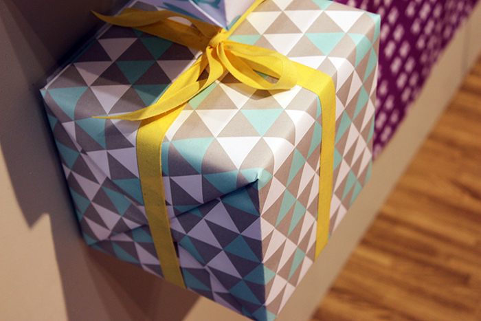 Sycamore Street Press gift wrap