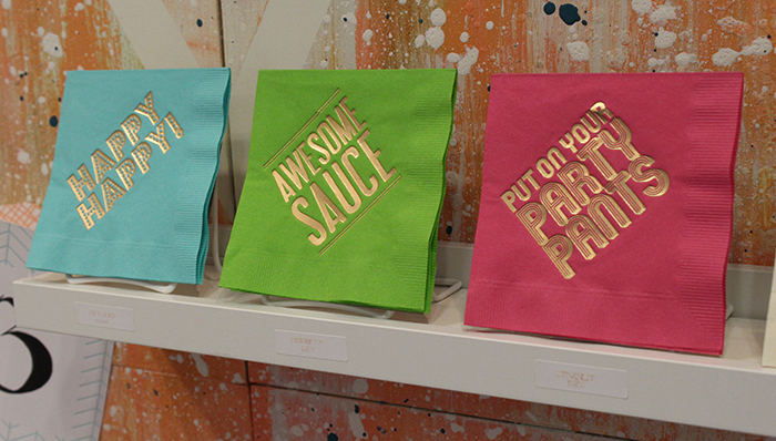 Napkins by Farewell Paperie