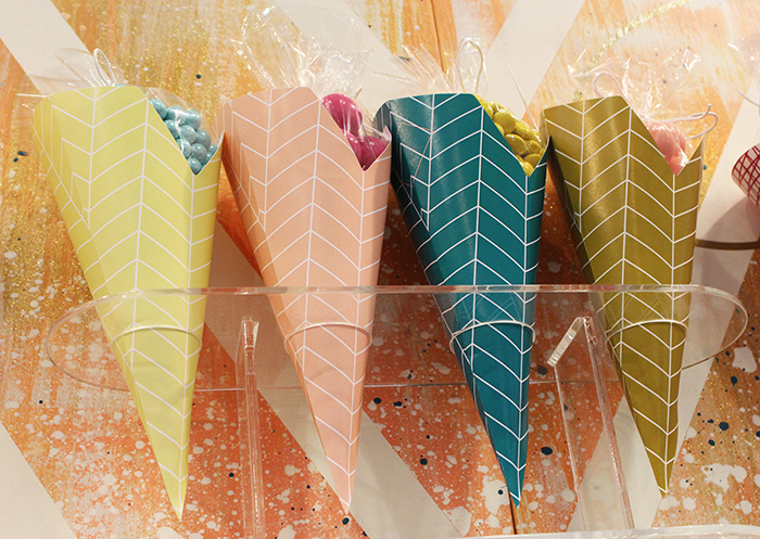 Party cones by Farewell Paperie