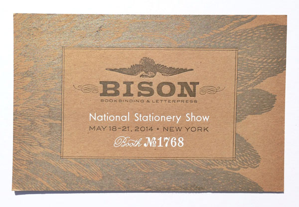 Bison Bookbinding and Letterpress