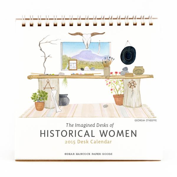 DearHancock_HistoricalWomenDeskCalendar