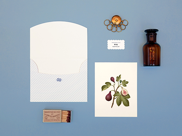 3 Scented Fig Card